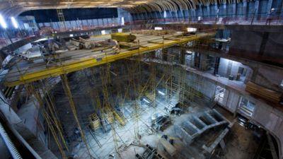El fenomenal monumento a Néstor Kirchner que se construye en el bajo porteño