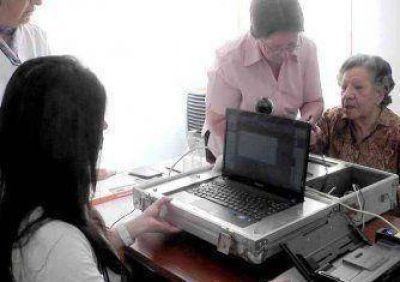 Comenzó a funcionar kit digital del Registro Civil