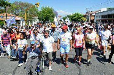 """Salta solidaria en el """"Maratón de la Familia"""""""