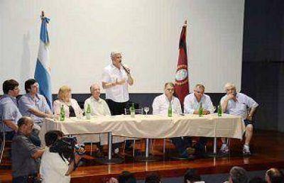 Zottos reivindincó la vicegobernación para el PRS