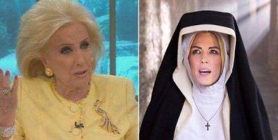 Mirtha Legrand, irónica con Viviana Canosa: