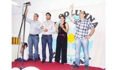 Pugliese present� su agrupaci�n, con Facundo Moyano en el escenario