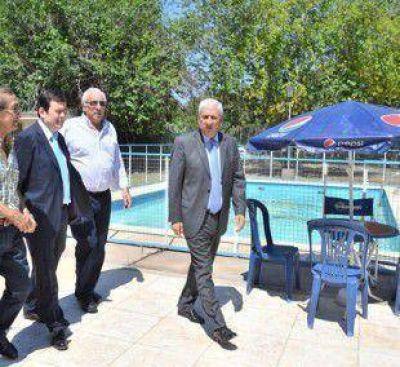 El Senador Zamora encabezó acto de inauguración de obras en el polideportivo de UTA