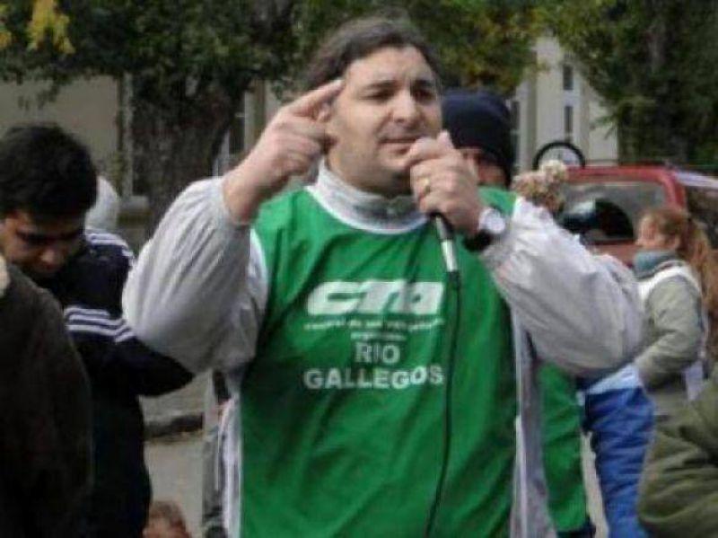 Garzón ratificó apoyo al acampe y no descartó una presentación legal