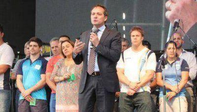 Camau Espínola abrió las instancias finales de los Juegos Nacionales Evita