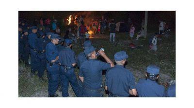 Más de 500 personas tomaron un predio en Villa Palacio