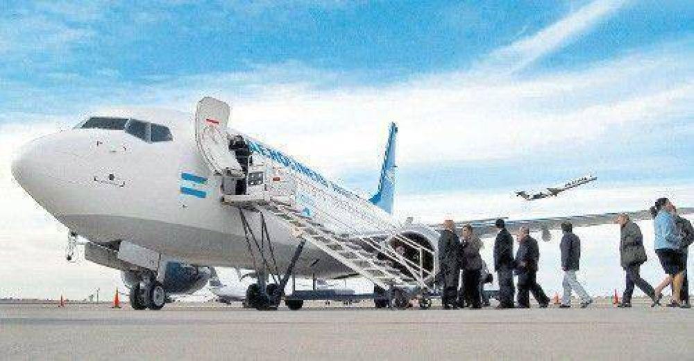 Aerolíneas ya pierde más de 6,6 millones de pesos por día