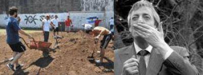 Recordaron a Kirchner en una jornada solidaria