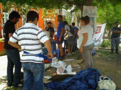 Reclamaron el no aumento del boleto, el estudiantil gratuito y una alternativa a Tarjebus