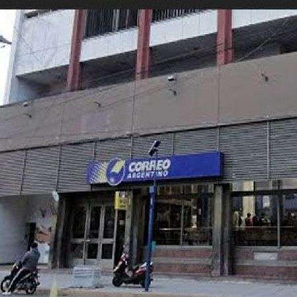 El Correo Argentino sigue con atención reducida por la tarde