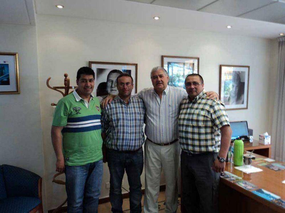 Sindicato de Luz y Fuerza recibió un fuerte respaldo de la nueva conducción nacional