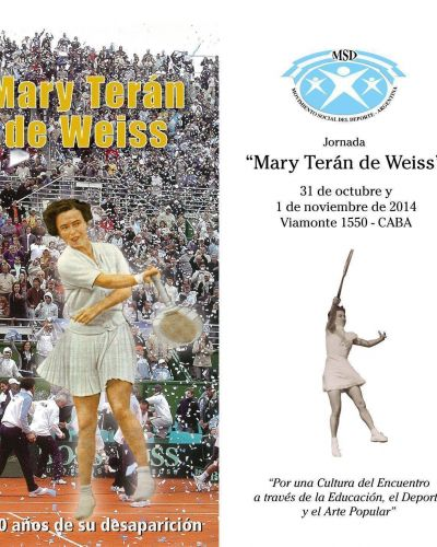 """Encuentro Nacional del Movimiento Social del Deporte: """"Mary Terán de Weiss"""""""