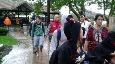Ya hay m�s de 1.000 evacuados en la provincia de Buenos Aires