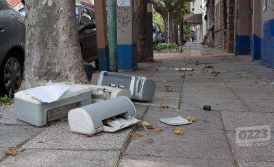 ¿Qué hacemos con la basura electrónica?