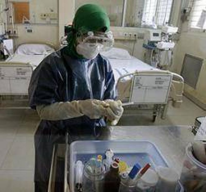 Gripe porcina. Fuerte demanda de pacientes en los centros de salud