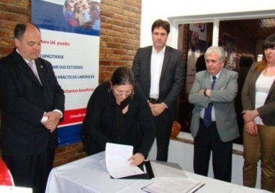 La UNPA firmó un convenio con la Secretaría de Empleo de la Nación