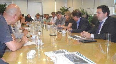 Reuni�n en Trabajo por la situaci�n del sector pesquero