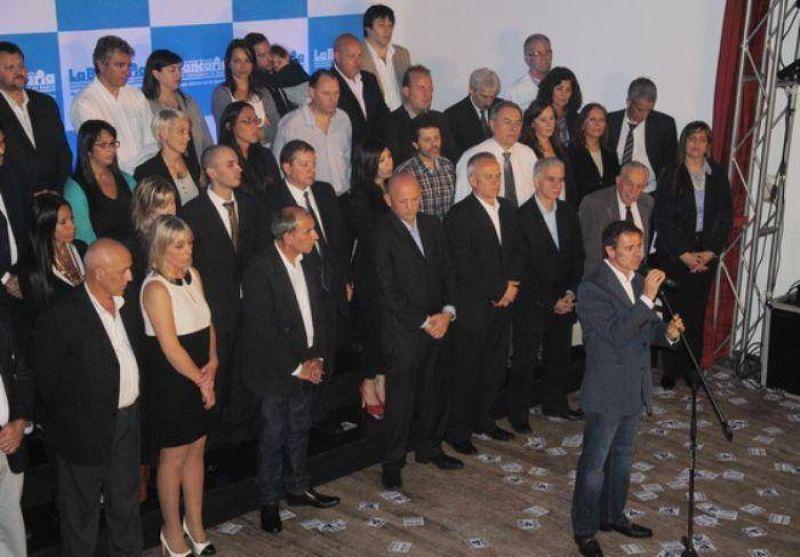 Martín Aiello y Roberto Amado presentaron la Lista 4 Azul que va por la igualdad de todos los bancarios