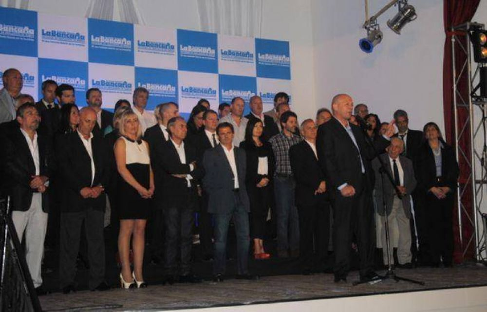 Aquí están, estos son… quienes integran la Lista 4 Azul de La Bancaria