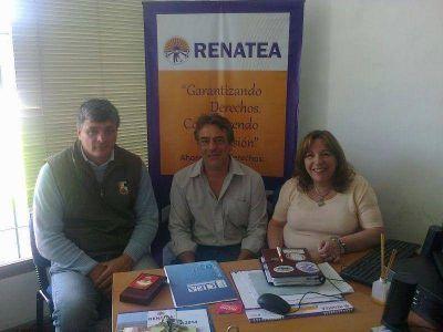 AFSCA se reunió con RENATEA y el Ministerio de Trabajo