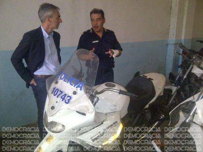 Una división especial de motos de alta cilindrada custodiará las calles de Junín