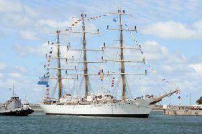 Tras 9 meses, la Fragata Libertad regresó a Mar del Plata