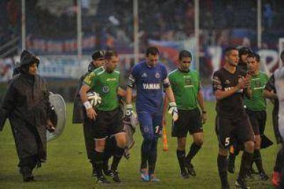 Fue suspendido en el entretiempo el partido entre Tigre y Lanús
