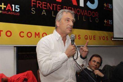 José Eseverri y Ricardo Lissalde encabezaron la reinauguración del local partidario del Frente Renovador