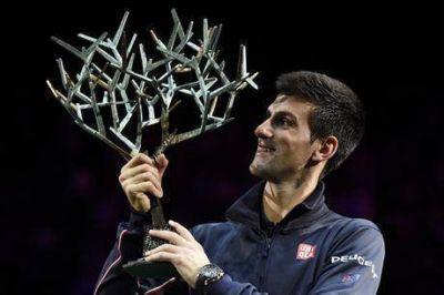 En París, Novak Djokovic aplastó a Milos Raonic y sumó el Masters 1000 número 20 de su carrera