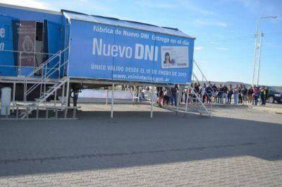 Mañana martes también atenderá el camión fábrica de DNI