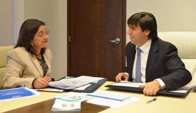 Corpacci y Bossio firmaron un convenio para promover la moratoria