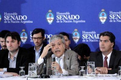 Capitanich y De Vido defendieron la nueva Ley de Telecomunicaciones que