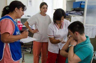 Realizaron testeos y vacunación a internos de la carcel