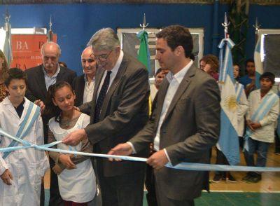 Santiago Cafiero inauguró el primer Centro de Educación Física Provincial en San Isidro