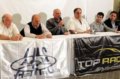 Presentaron en Comodoro la carrera de Top Race