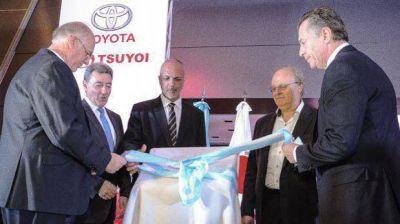 Tsuyoi inauguró la concesionaria de Toyota más grande del país