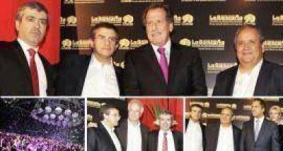 Cano, Cisneros, Jorge Brito, Palazzo, Nosiglia y Scioli con 13 mil bancarios