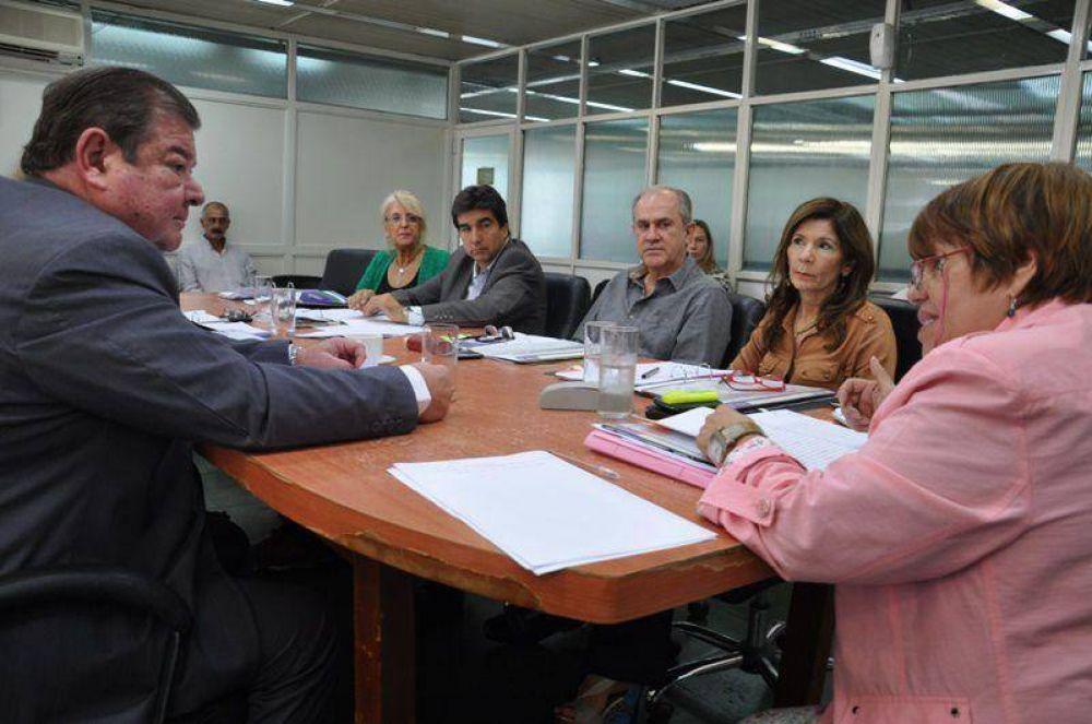 Hacienda analizó el presupuesto 2015 con autoridades del Poder Judicial