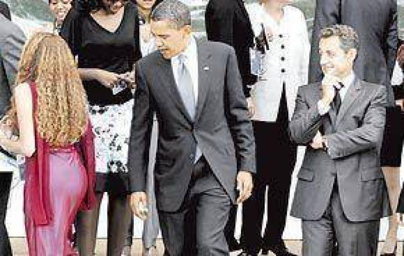 Un presidente inquieto y una foto que recorrió el mundo