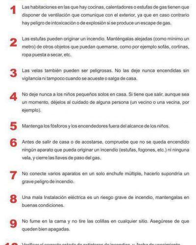 Orrego lanzó una campaña para prevenir incendios