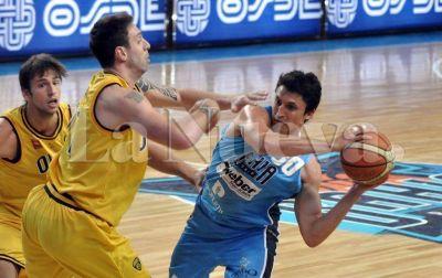 Liga Nacional: Bahía Basket perdió ante Obras por 76 a 66 en el estadio Osvaldo Casanova