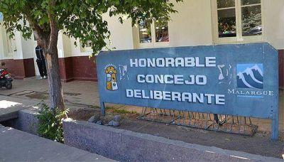 Menores dañaron el Concejo Deliberante de Malargüe