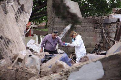 Así quedó la zona de la explosión en Córdoba que arrasó con decenas de casas