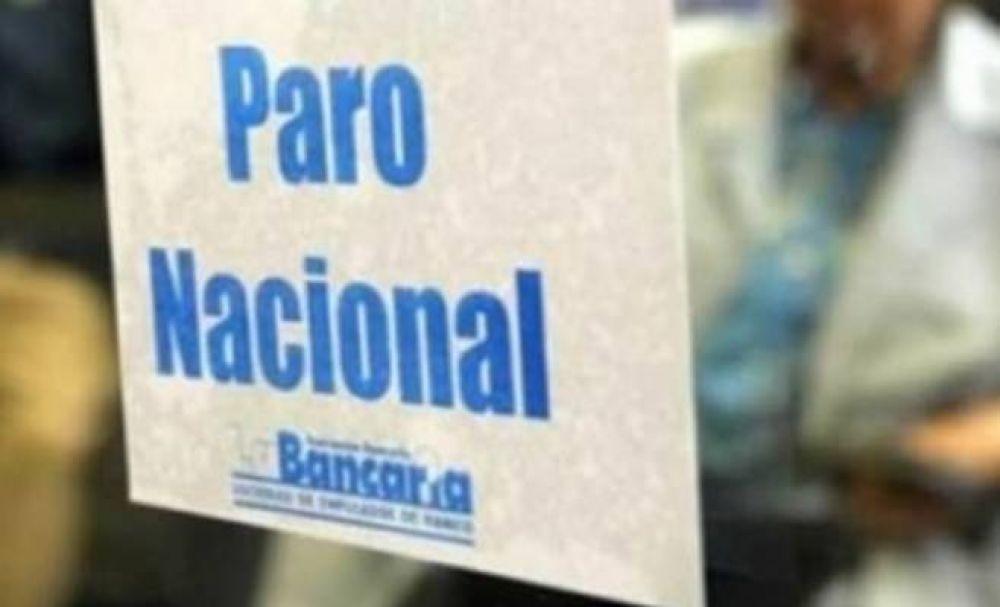 Bancarios ratificaron un paro de 48 horas para la semana que viene
