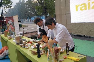 Comodoro Rivadavia presentó su gastronomía en el Festival Raíz 2014