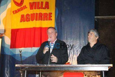 Compromiso de Lunghi para predio donde el Club Villa Aguirre construya su cancha