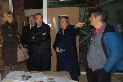Martini mostró a autoridades nacionales los avances en el Centro de Monitoreo