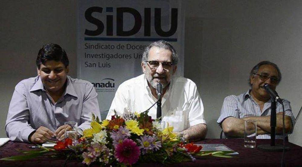 El SIDIU se reunió con el Rector de la Universidad para analizar temas inherentes a la actividad gremial del sector