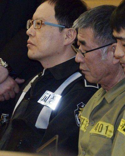 Condenan a 36 años al capitán del ferry surcoreano