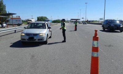 Detenido por conducir ebrio por la autopista Buenos Aires - La Plata